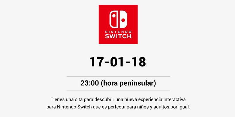 Anuncio Nintendo