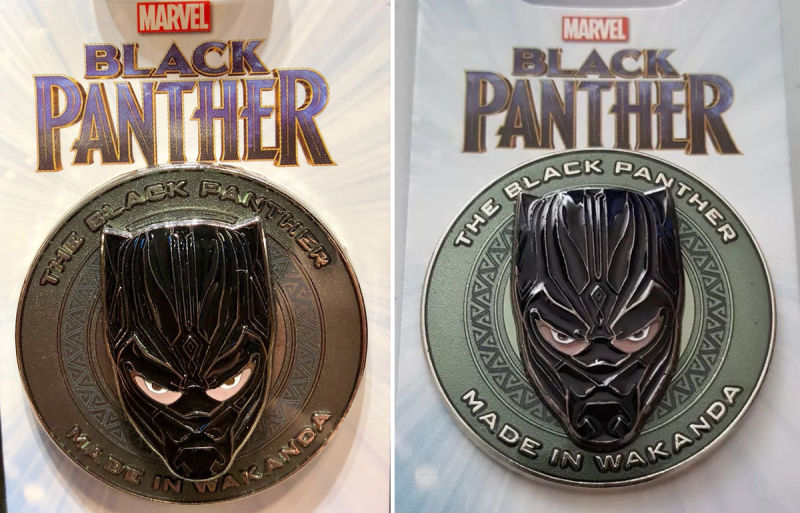 Black Panther pin