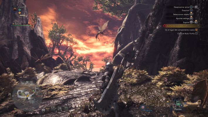 Captura Monster Hunter World  3