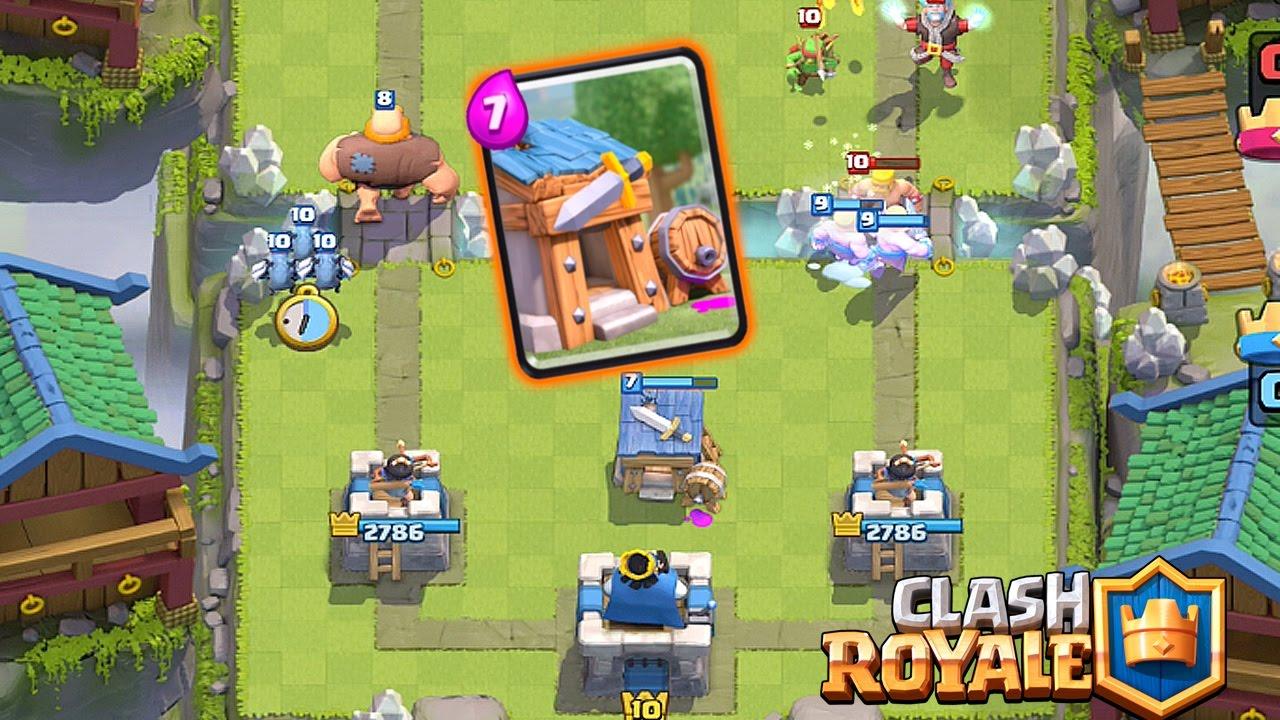 Clash Royale - Choza de Bárbaros
