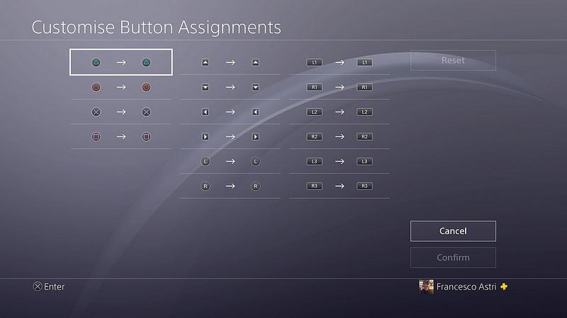 Configura los botones del DualShock 4