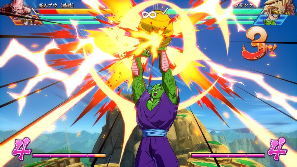 Dragon Ball FighterZ - Secuencia especial de Gotenks y Piccolo