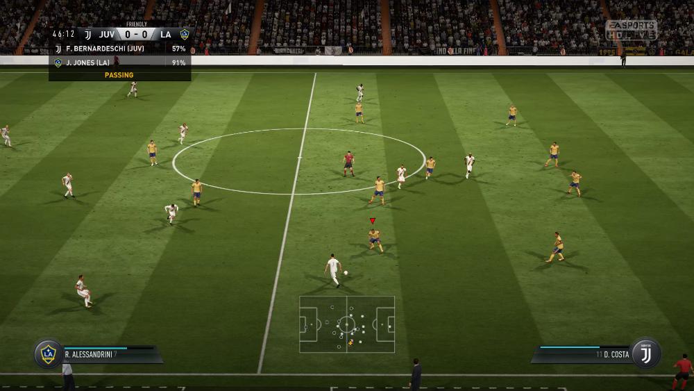 FIFA 18 - Defensa
