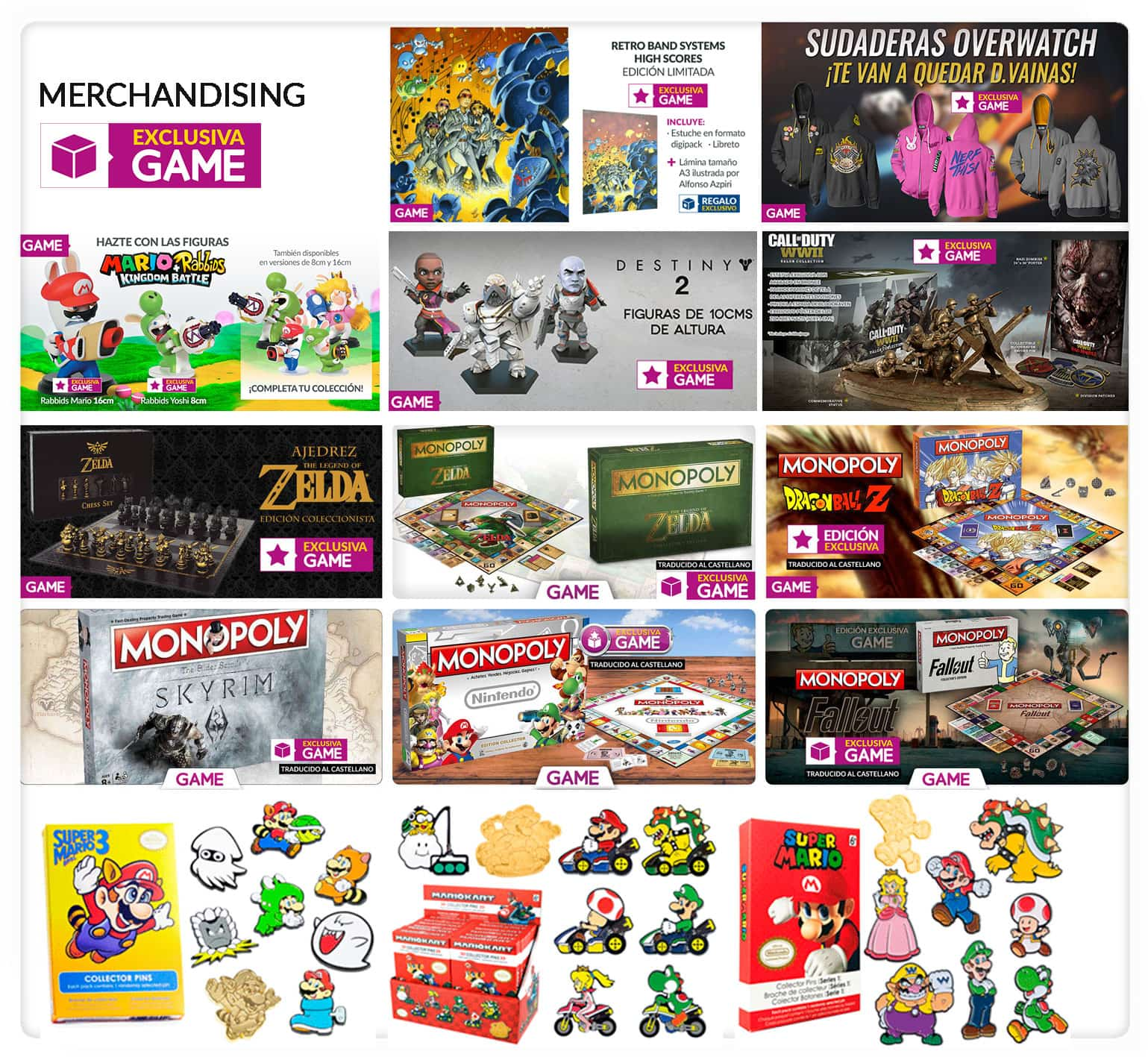 GAME productos merchandising Reyes Magos 2018