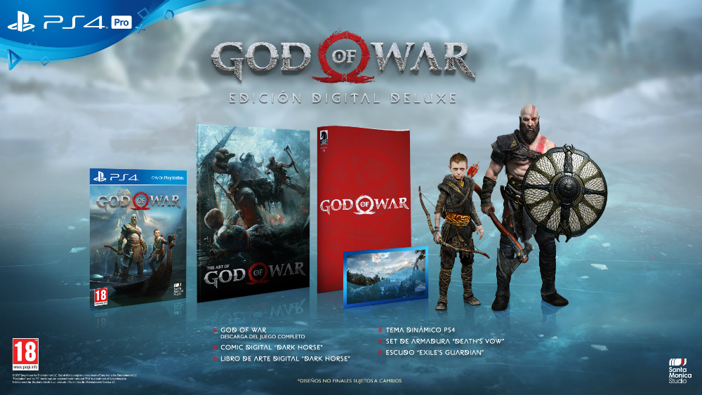 Edición Digital Deluxe de God of War