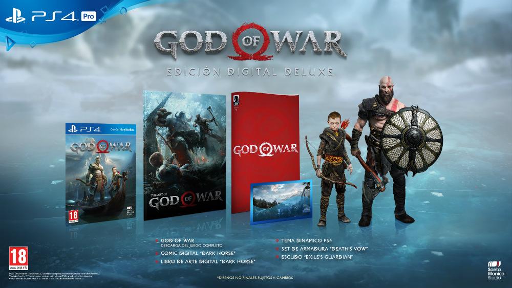God of War - Edición Digital Deluxe