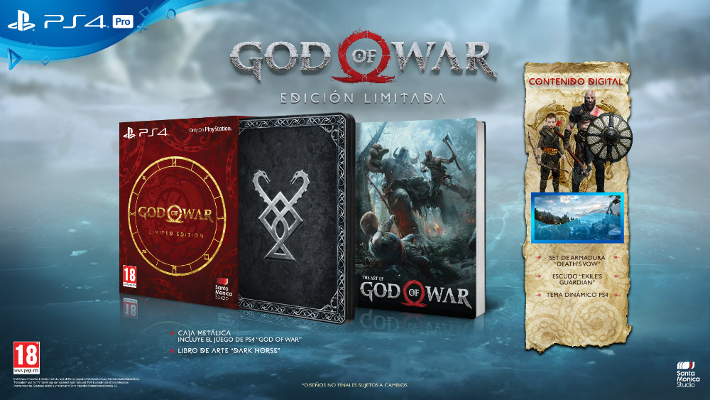 Edición Limitada de God of War