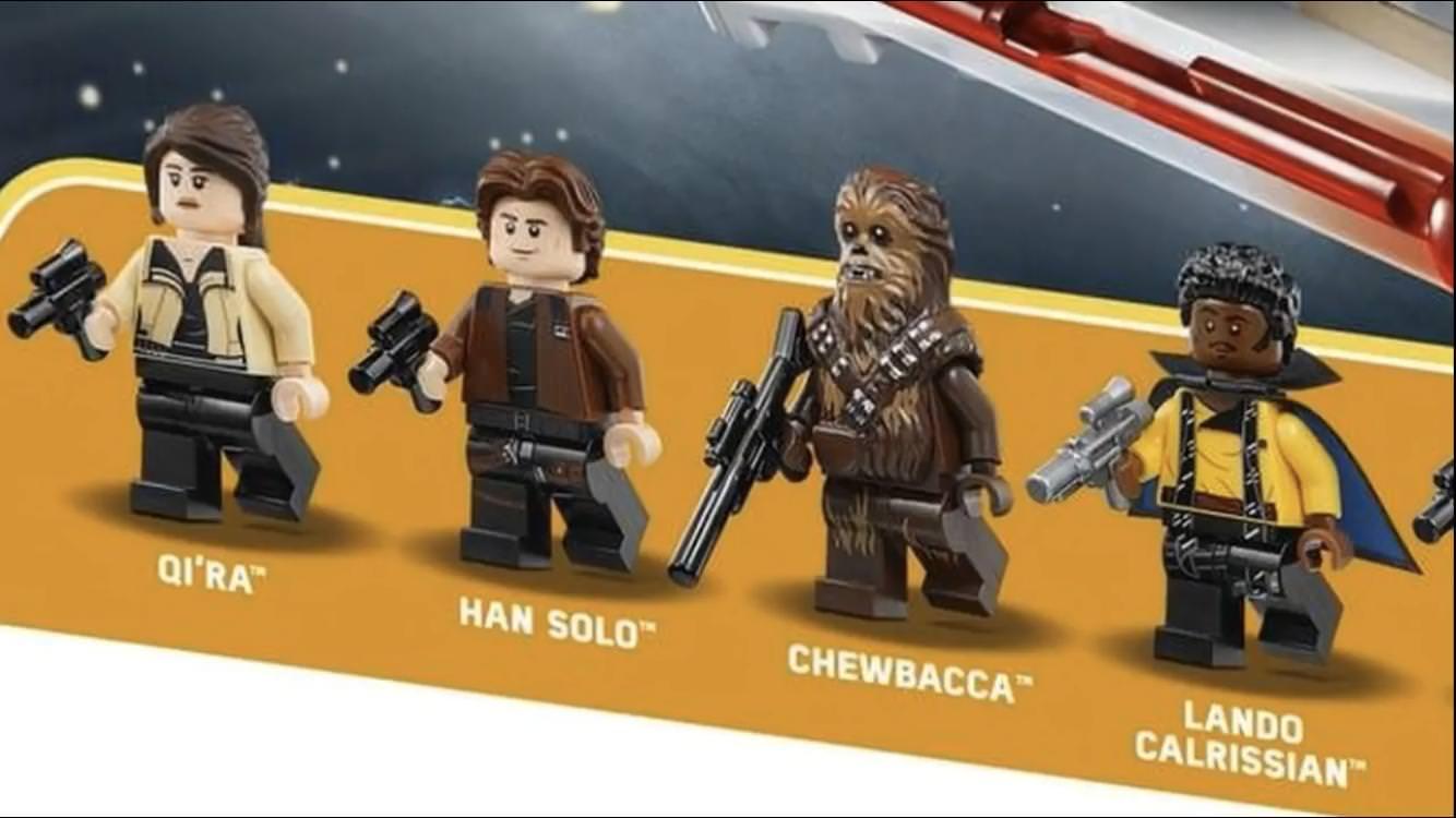 LEGO revela las figuras de Han Solo: Una historia de Star Wars