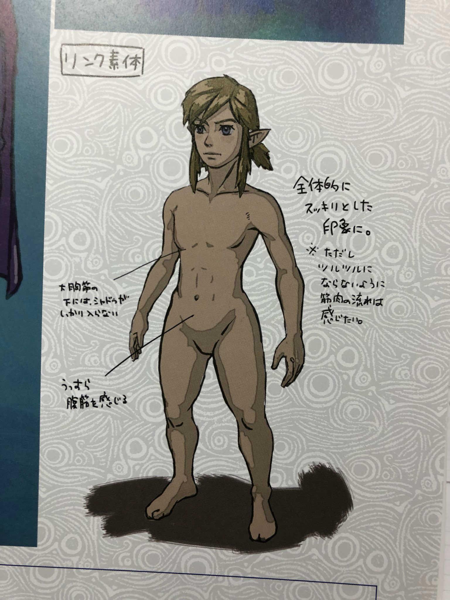 Link desnudo