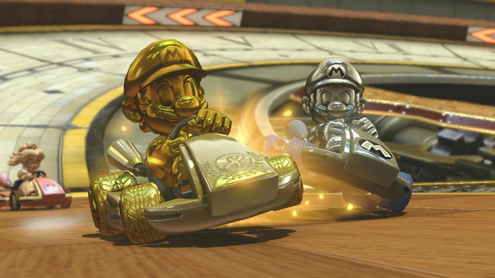 Mario Kart 8 Deluxe - Kart dorado