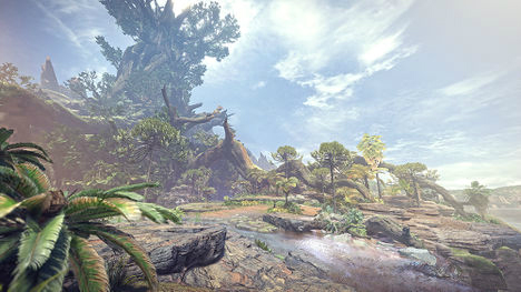 Monster Hunter World - Bosque Primigenio