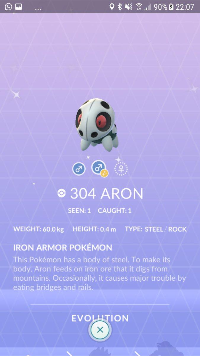POkémon GO - Pokémon Shiny