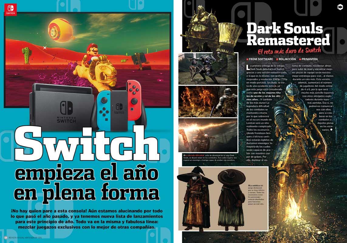 Revista Oficial Nintendo 305 a la venta, cargada de ...
