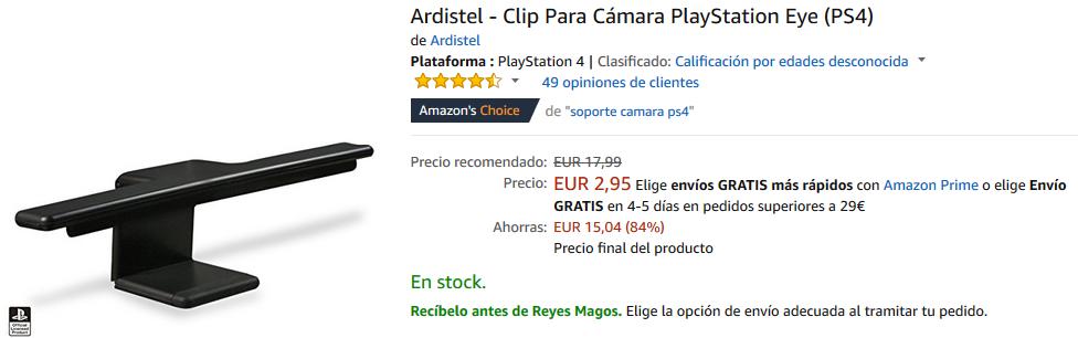 Soporte PlayStation Camera Ardistel