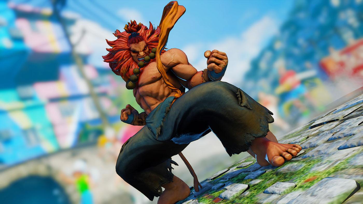 Street Fighter V Arcade Edition - Akuma