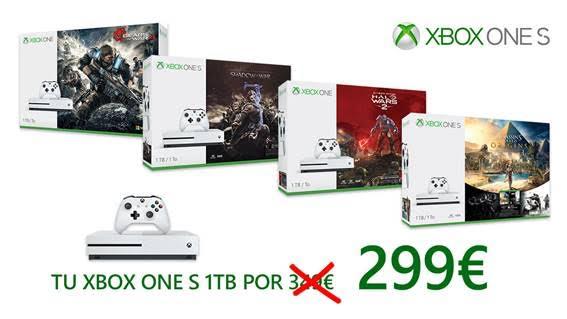 Xbox One S rebaja