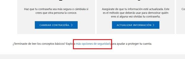activar verificacion en dos pasos xbox one