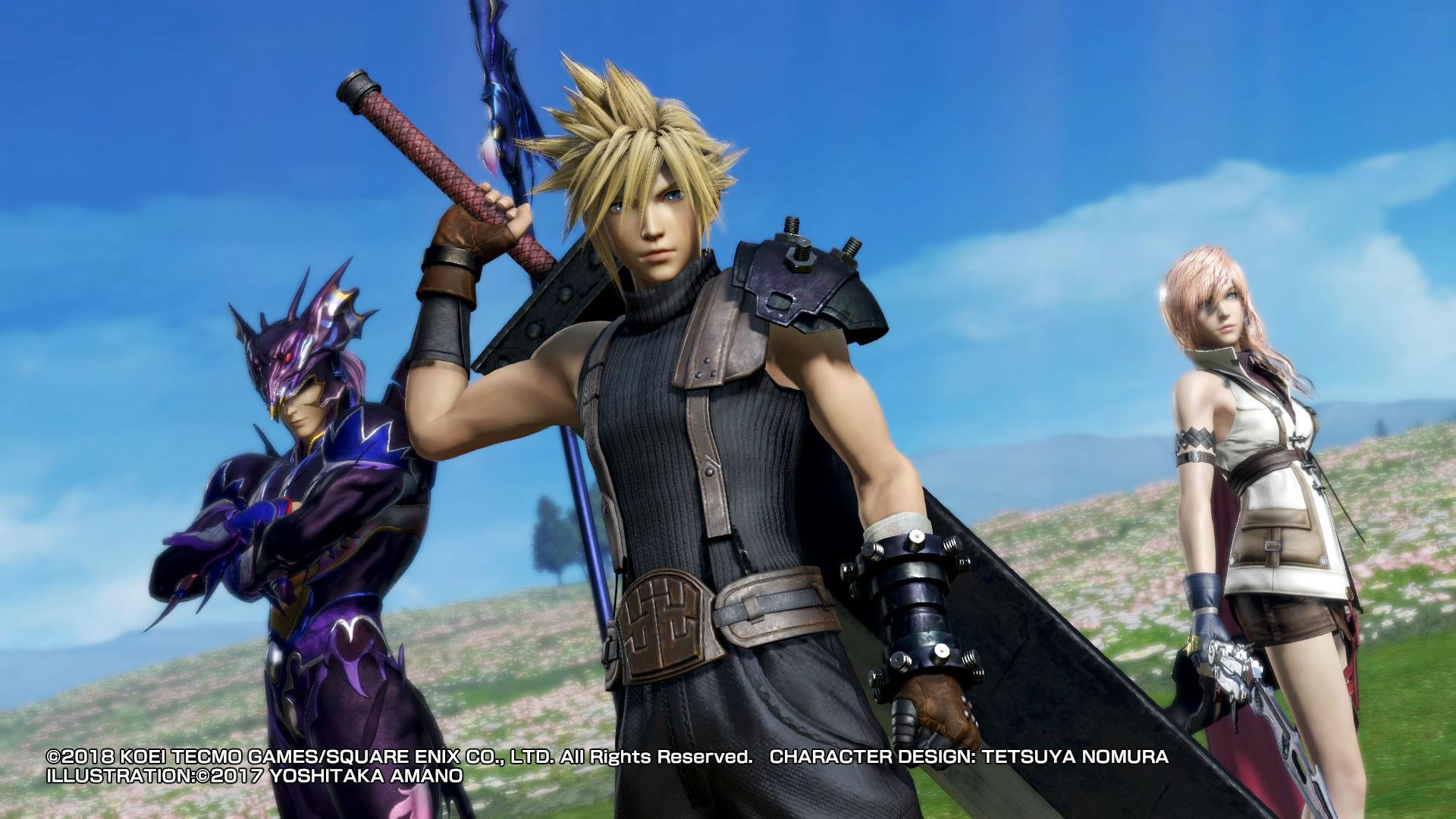 Dissidia Final Fantasy NT análisis PS4
