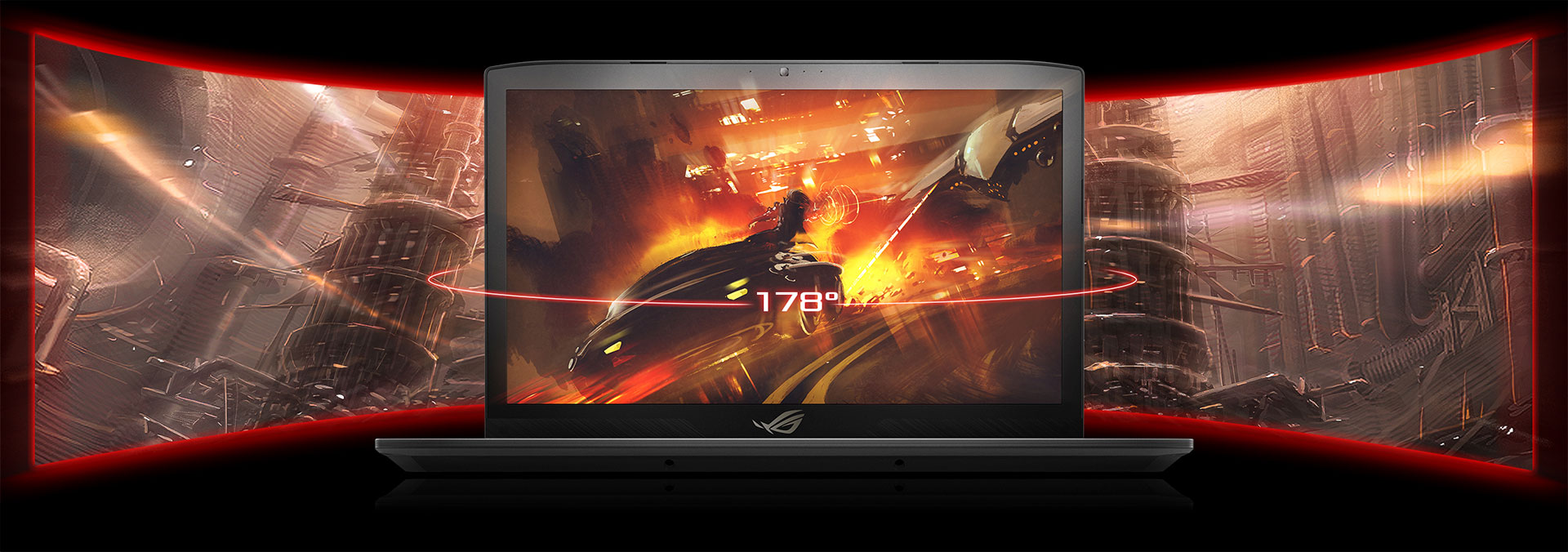 Asus ROG Strix GL703 pantalla