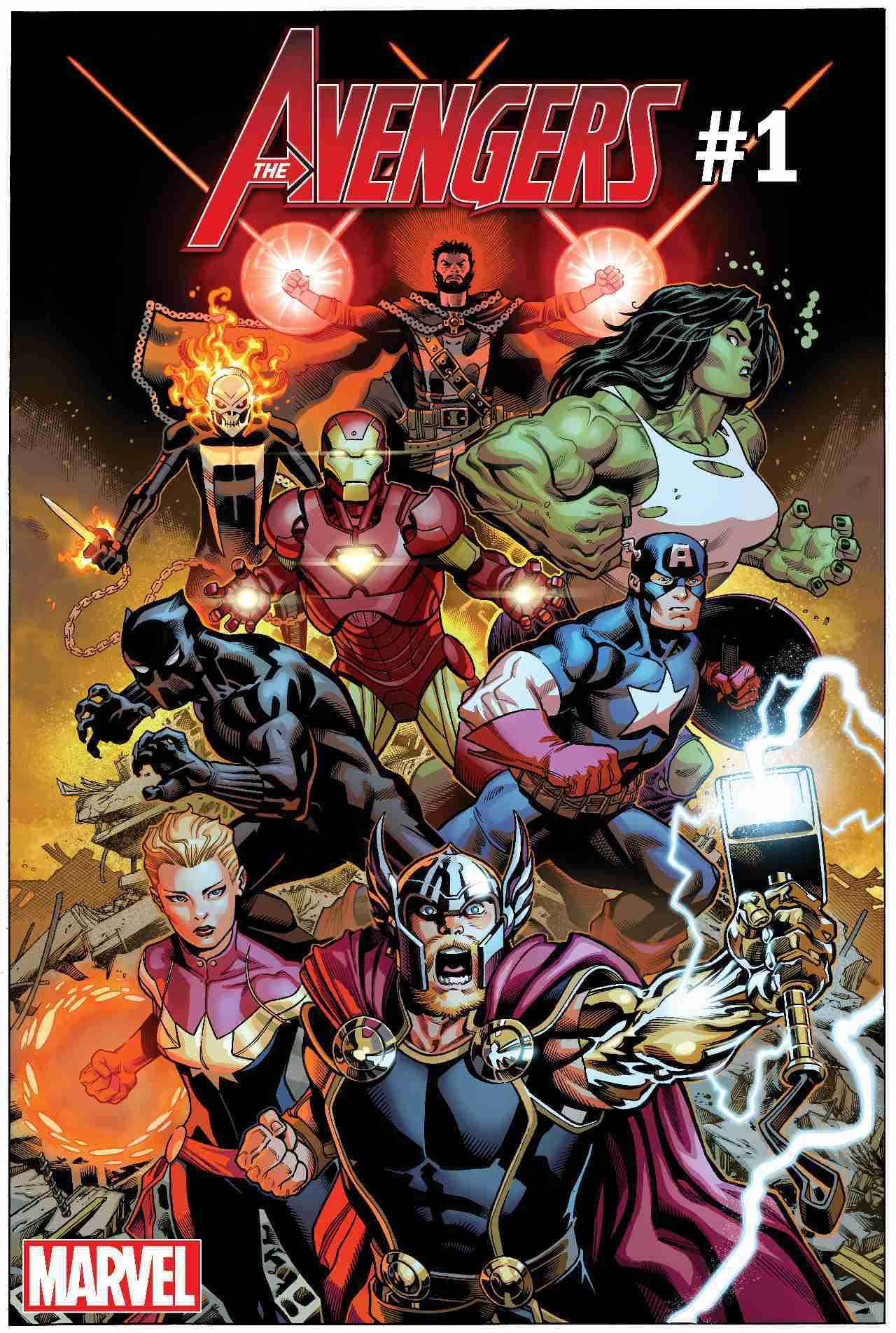 Avengers cómic