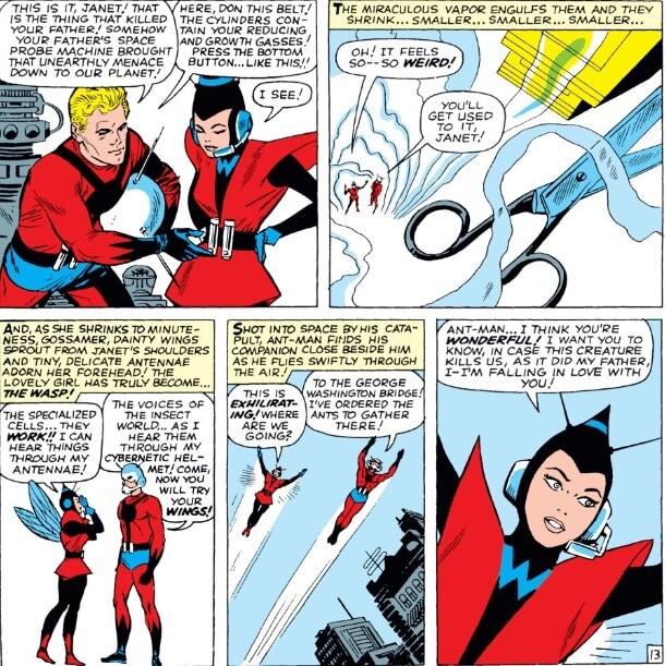 La avispa Ant-man