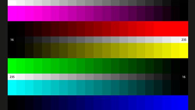 Patrón Color Steps de AVS HD709