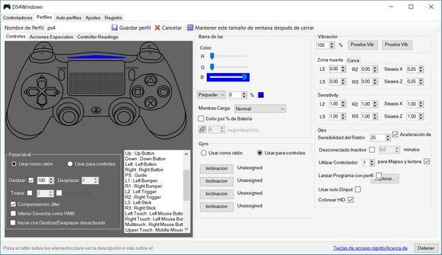 Cómo usar el DualShock 4 en el PC