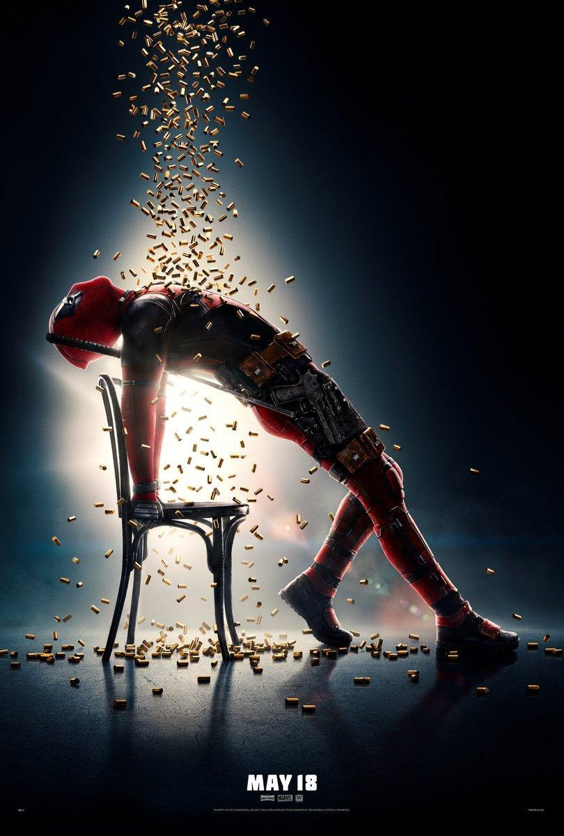 Deadpool 2 póster