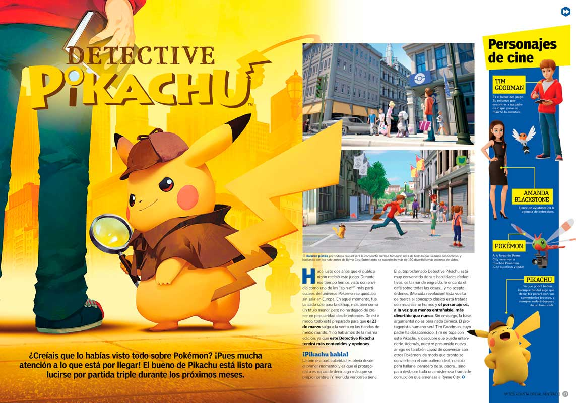 Detective Pikachu RON 306