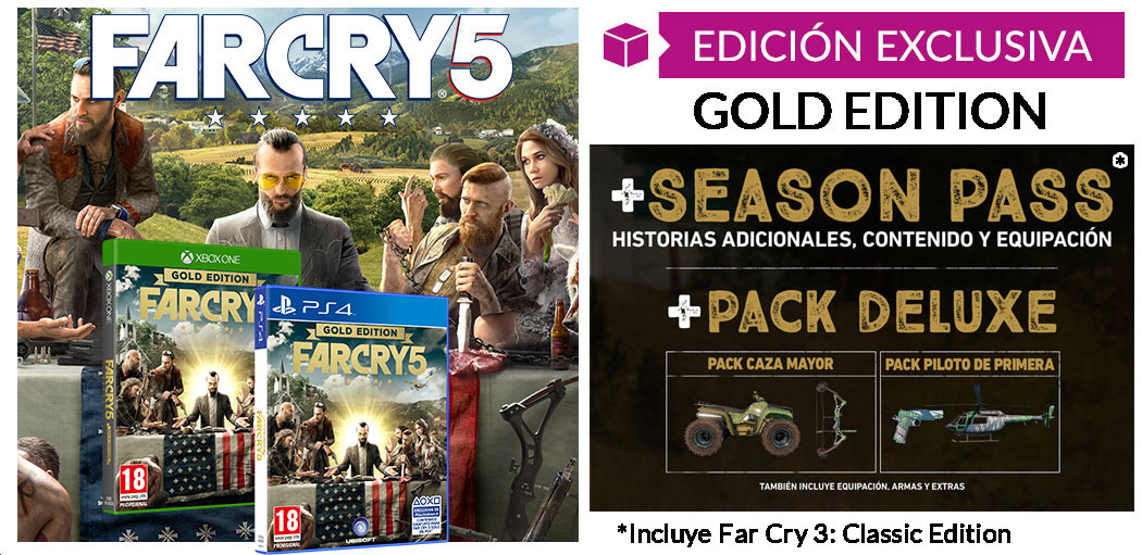 Far cry 5 Gold Edition en GAME