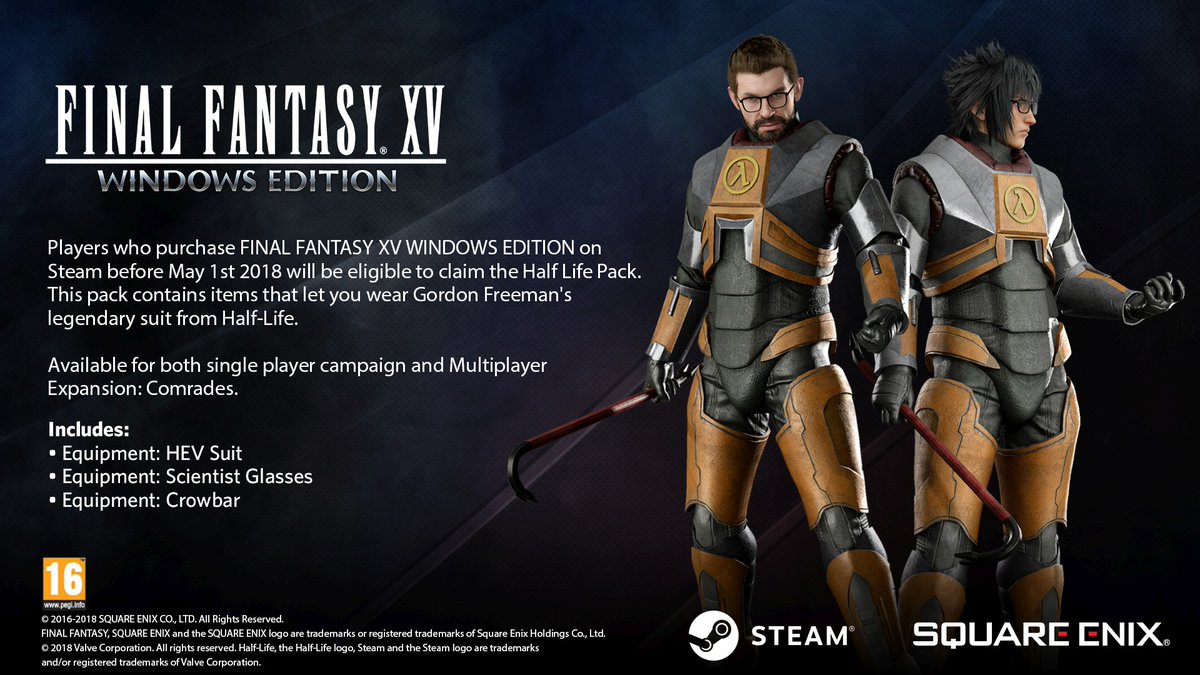 Final Fantasy XV Windows Edition Half-Life