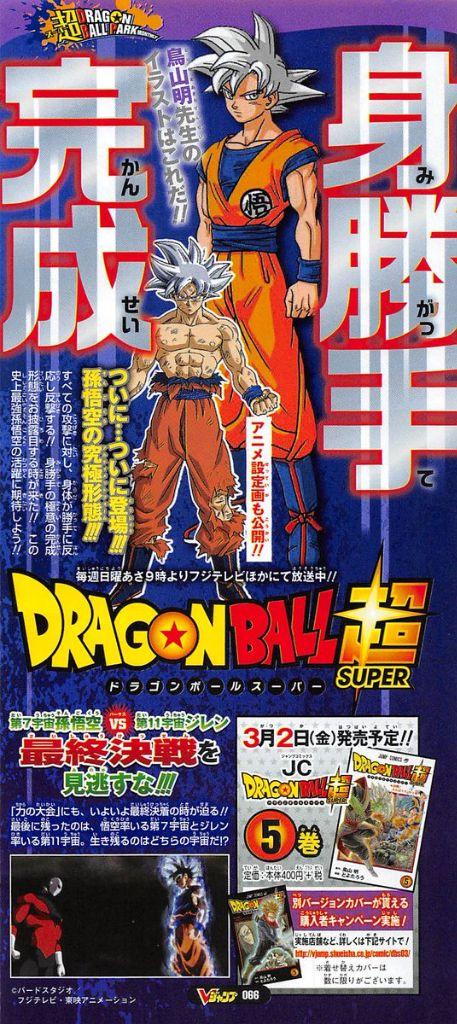Goku Transformación