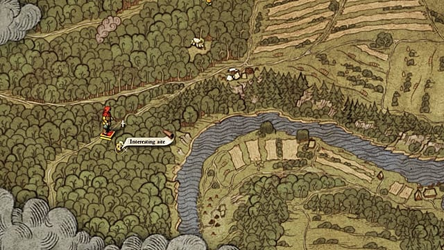Kingdom Come Deliverance - Mapa del tesoro 2