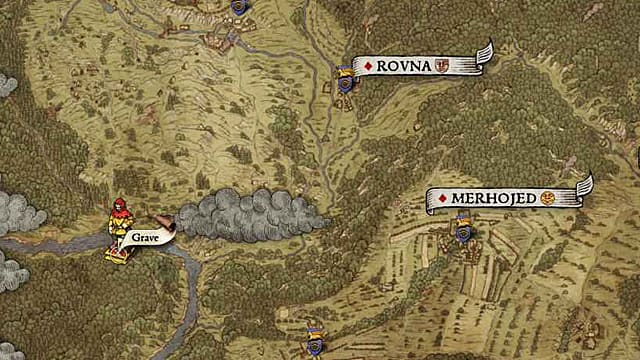Kingdom Come Deliverance mapas tesoro