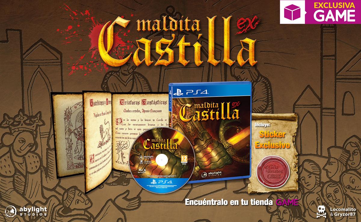 Maldita Castilla EX en GAME