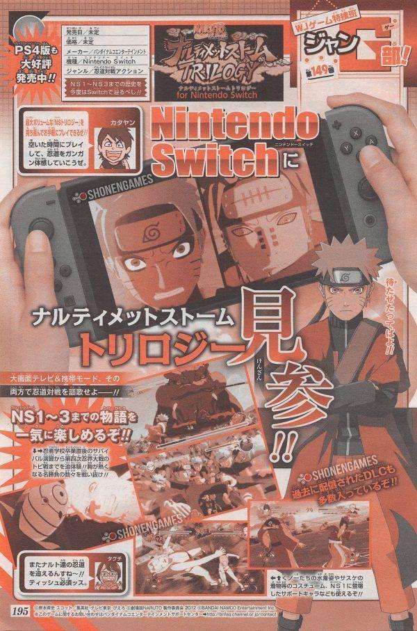 Naruto SUNS Trilogy para Nintendo Switch