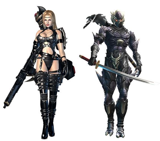 Diferencias entre personajes masculinos y femeninos