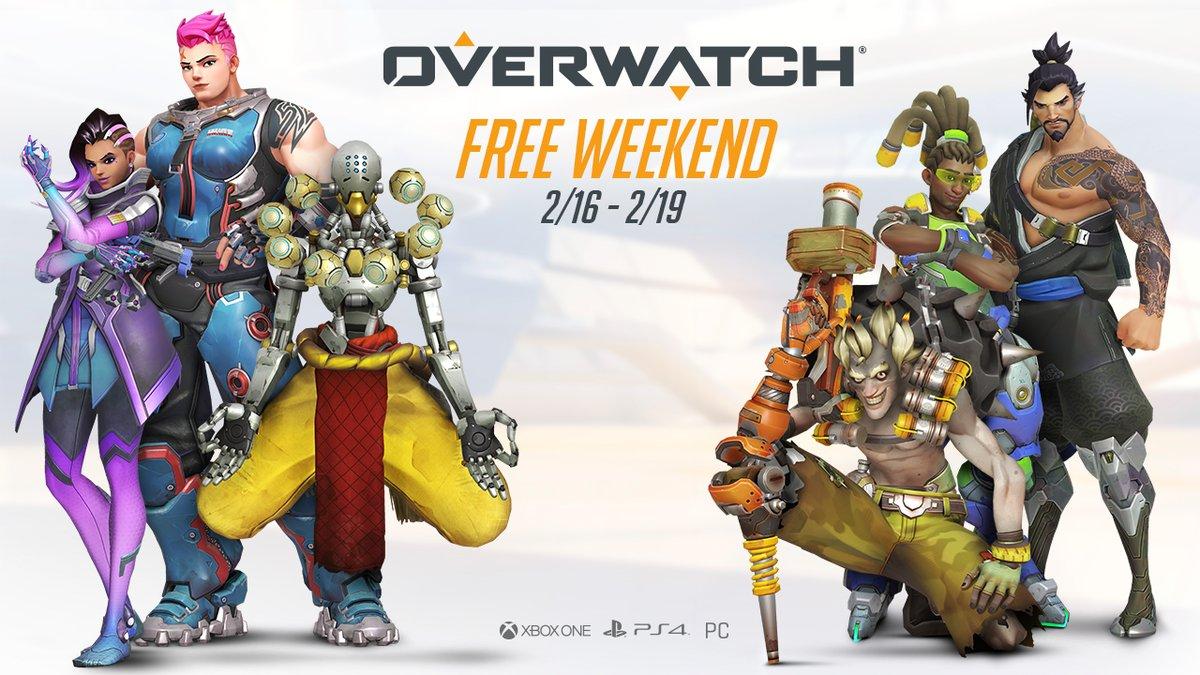 Overwatch - Fin de semana de juego gratuito