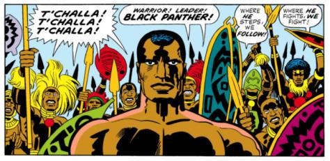 Pantera Negra, Kirby