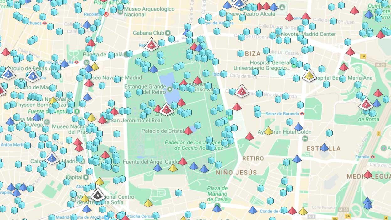 Mapa Gimnasios Pokemon Go.Gimnasios Pokemon Go Mapa Mapa