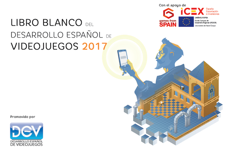 Portada Libro Blanco del desarrollo español de videojuegos 2017