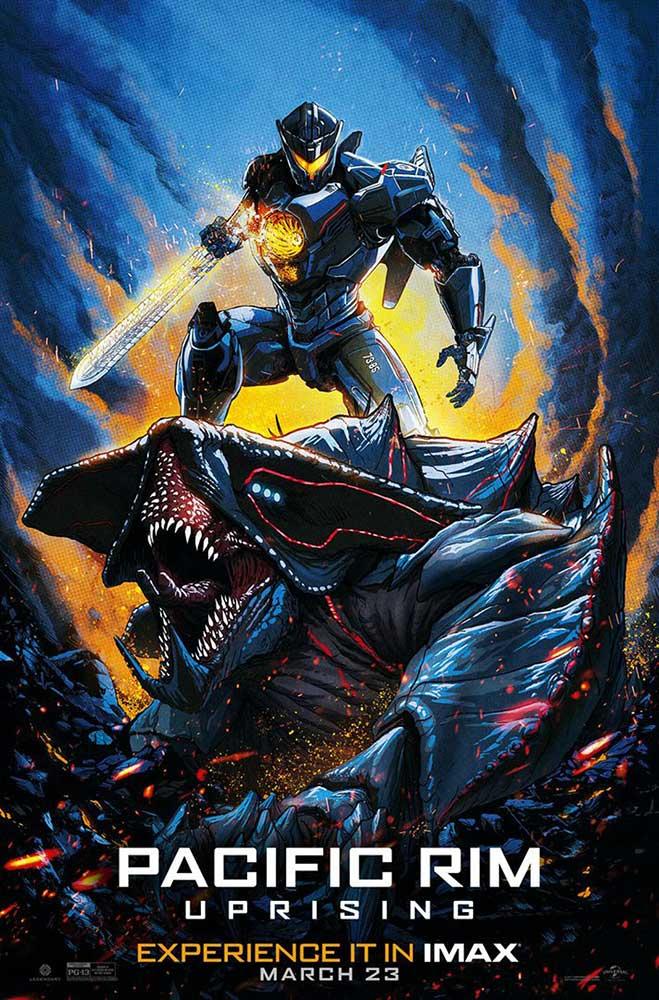 Póster IMAX Pacific Rim: Insurrección