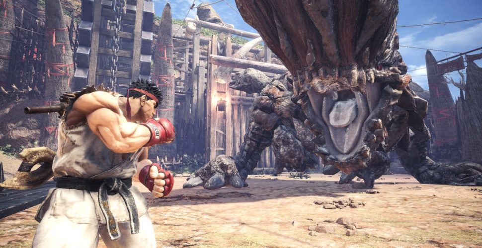 Ryu en Monster Hunter World