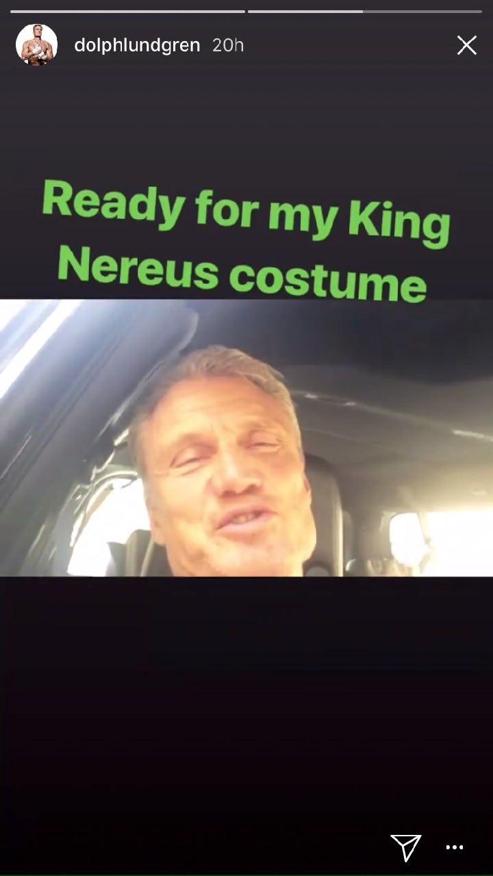 Aquaman Dolph Lundgren