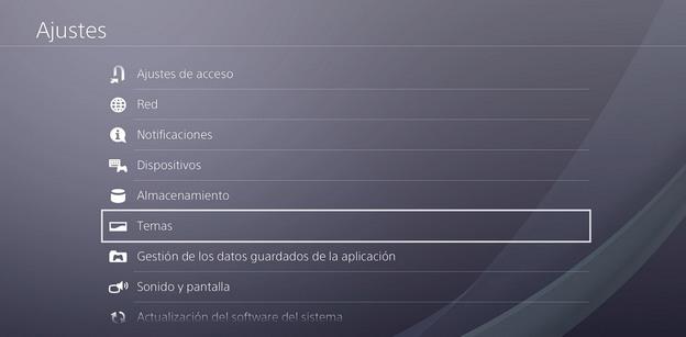 Cómo crear un tema personalizado en PS4