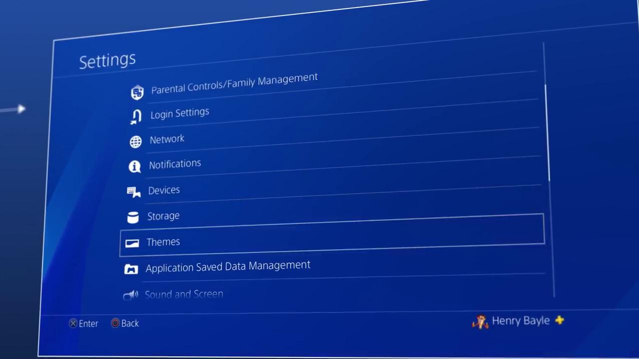 Cambiar fondo de pantalla PS4