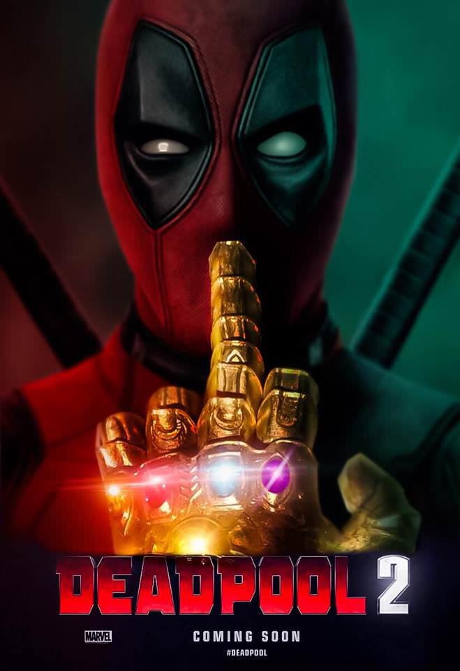 Deadpool 2: Nuevo fan póster riéndose de Vengadores: Infinity War