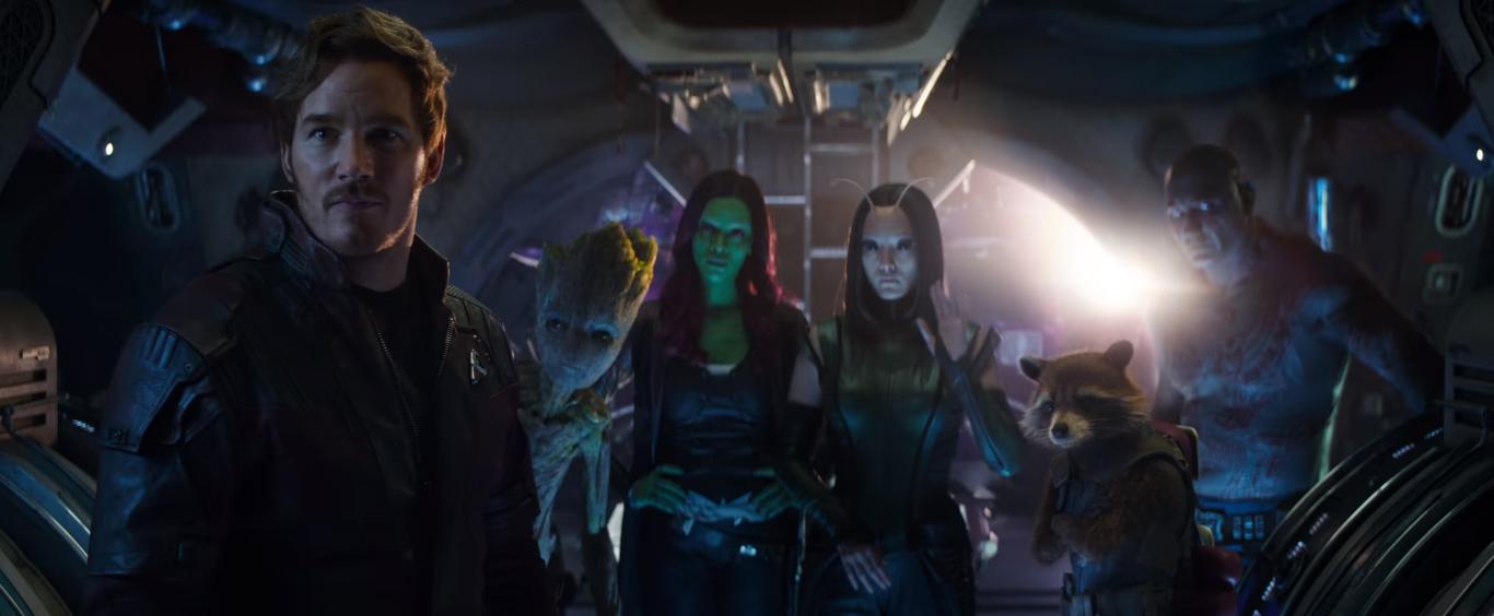 Encuentro Thor y Guardianes de la Galaxia en Vengadores: Infinity War