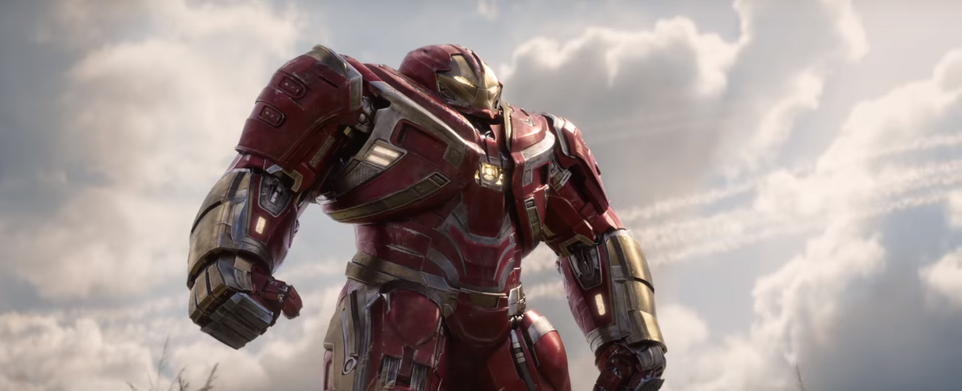 Hulkbuster en Vengadores: Infinity War