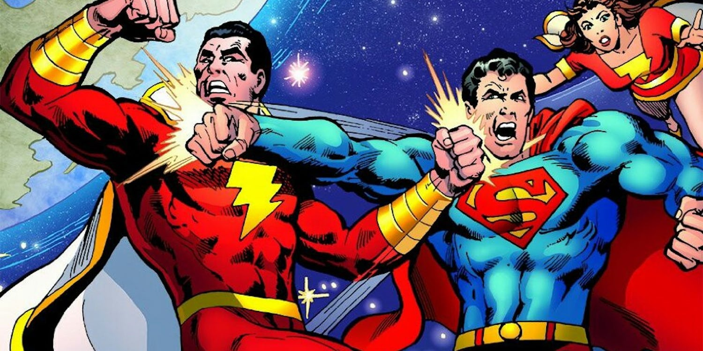 Shazam y Superman
